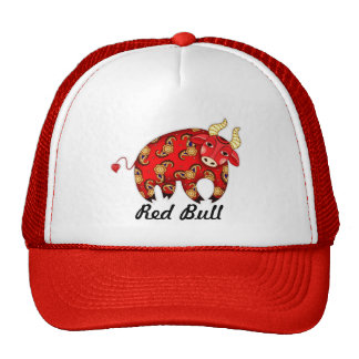¡Gorra del camionero de Red Bull - personalizable!