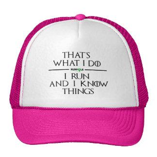 Gorra del camionero de Runhole de la casa