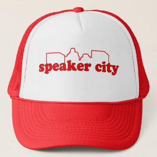 Gorra del camionero de Speaker City