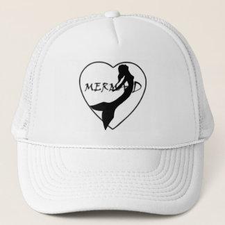 Gorra del camionero del amor de la sirena de