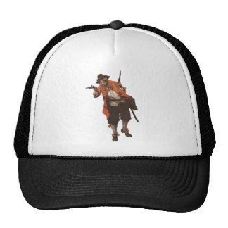 Gorra del camionero del arma del fusil de chispa d