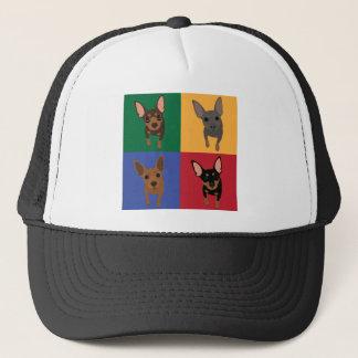 Gorra del camionero del arte pop del Pin de 4