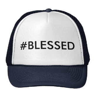 Gorra del camionero del #BLESSED de Hashtag