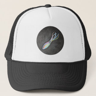 Gorra del camionero del calamar del arco iris