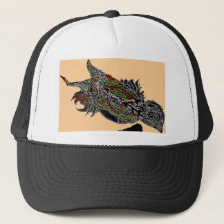 gorra del camionero del chirrido