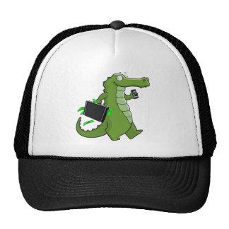 Gorra del camionero del cocodrilo del comerciante
