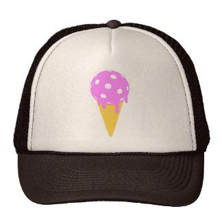 Gorra del camionero del cono de helado del verano