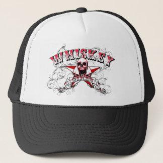 Gorra del camionero del cráneo de los chicas del