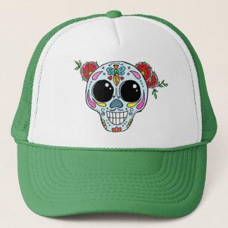 Gorra del camionero del cráneo del azúcar con las
