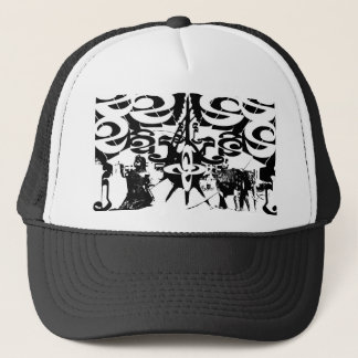 Gorra del camionero del diseño de la herencia del