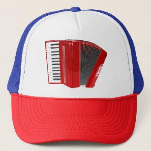 Gorra del camionero del DISEÑO del ACORDEÓN