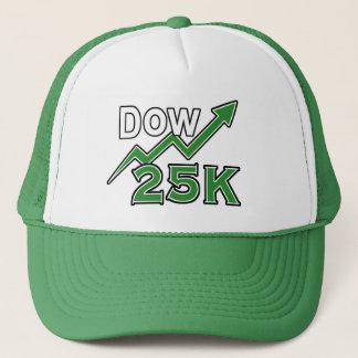 GORRA del CAMIONERO del DOW 25K del gorra del DOW