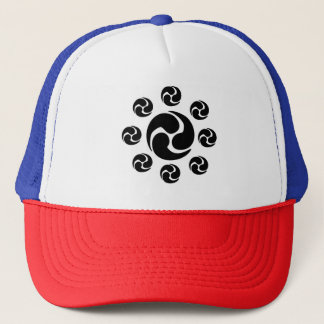 Gorra del camionero del escudo de Japón