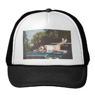 Gorra del camionero del estilo del vintage