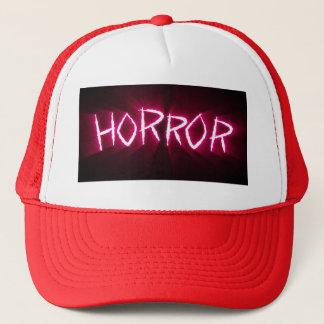 Gorra del camionero del horror