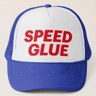 Gorra del camionero del lema de la diversión del