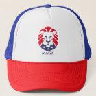 Gorra del camionero del león de MAGA