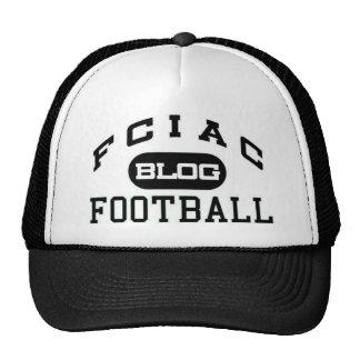 gorra del camionero del logotipo del blog del fcia