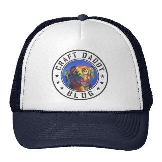 Gorra del camionero del logotipo del blog del papá