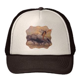 Gorra del camionero del nativo americano del