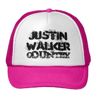 Gorra del camionero del país del caminante de