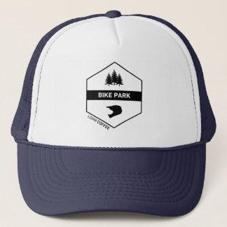 Gorra del camionero del parque de la bici
