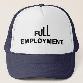 Gorra del camionero del pleno empleo