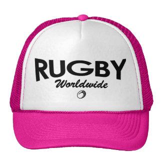 Gorra del camionero del rugbi de las mujeres