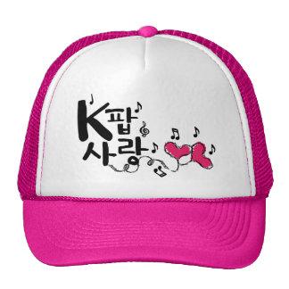 Gorra del camionero del sarang de K-POP