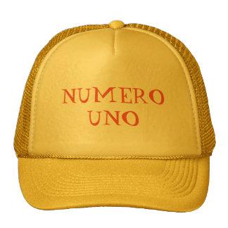 """""""GORRA DEL CAMIONERO DEL UNO DE NUMERO"""" GORROS"""
