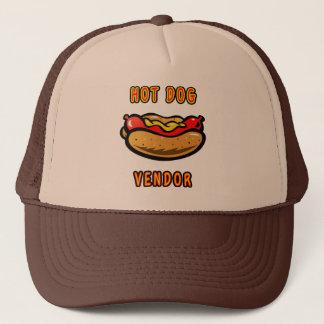 Gorra del camionero del vendedor del perrito