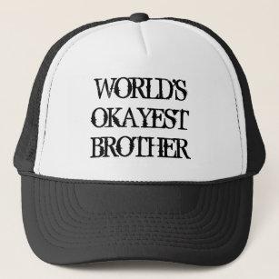 Gorra del camionero del vintage de Okayest Brother