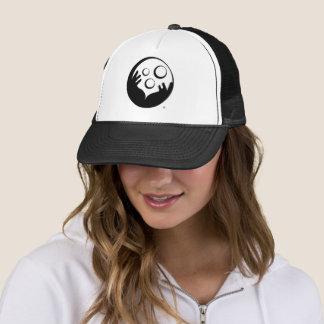 Gorra del camionero - logotipo del funcionario del