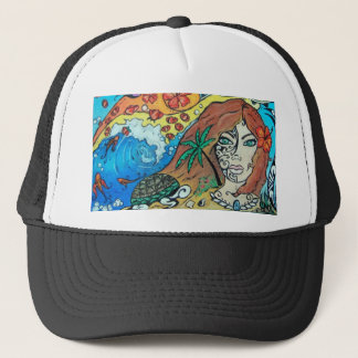 Gorra del camionero - madre tierra Polenesia