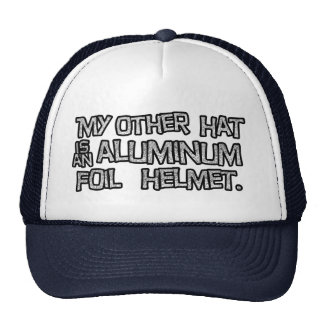Gorra del casco del papel de aluminio
