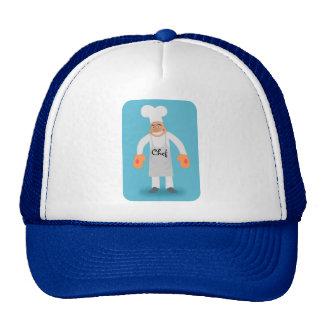 gorra del cocinero