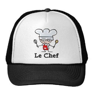 Gorra del cocinero con la figura del dibujo animad