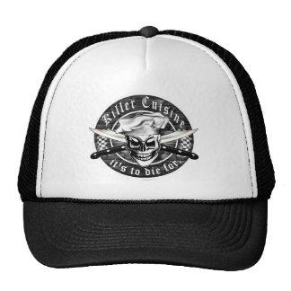 Gorra del cocinero del cráneo: Cocina del asesino