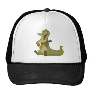 Gorra del cocodrilo del Banjo-Strummin'