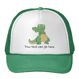 Gorra del cocodrilo del dibujo animado