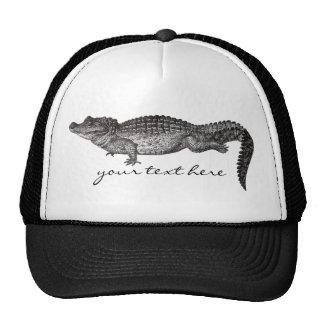 Gorra del cocodrilo del vintage