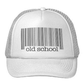 Gorra del código de barras de la escuela vieja