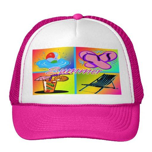 Gorra del collage del verano