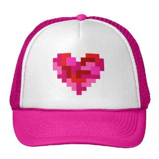 Gorra del corazón de Tetromino