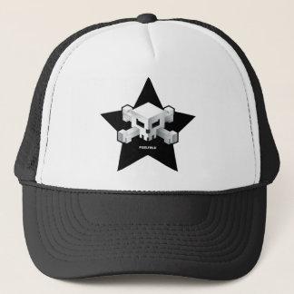 Gorra del cráneo de la estrella del juego el | de