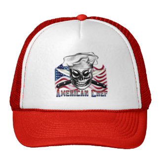 Gorra del cráneo del cocinero: Cocinero americano