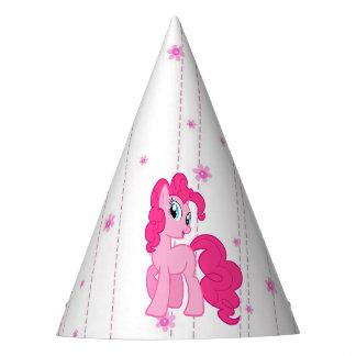 Gorra del cumpleaños del chica lindo del potro