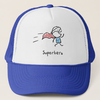 Gorra del delirio del superhéroe