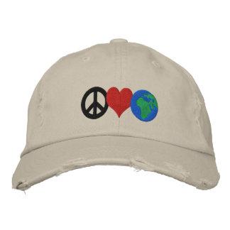Gorra del Día de la Tierra Gorro Bordado