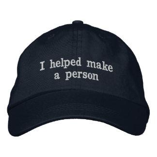 Gorra del día de padre para el papá